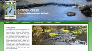 Catfish Creek Watershed Web Site