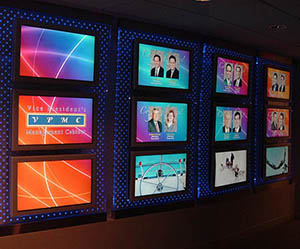 Digital Signage Wall